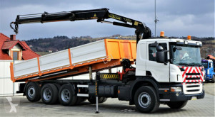 camion Scania R480 Kipper 6,90m + Kran/FUNK*6x4*Topzustand