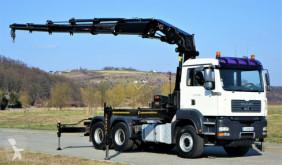 Tractor MAN TGA 33.480 Sattelzugmaschine+KRAN/FUNK! usado