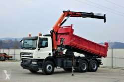 camion DAF CF 85.360 *Kipper 5,00 + Kran/FUNK*Topzustand!