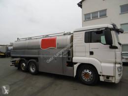 Kamion MAN TGS 26.440 (6x2) Schwarte Milchsammelwagen (Isoliert) (Nr. 4561) cisterna použitý