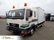 Vrachtwagen platte bak MAN 8.224 + MANUAL