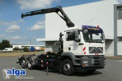 MAN TGA 26.440 TGA BL 6x2, Kran Hiab099, Funk, klima truck used hook arm system