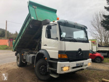 Mercedes Axor 1823 truck used two-way side tipper