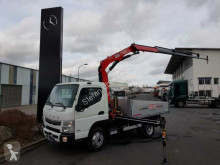 vrachtwagen Fuso Mitsubishi Fuso Canter 7C18 Pritsche+Kran+Funk