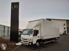camion Mitsubishi FUSO Canter 7C18 Pritsche/Plane + LBW