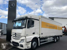 Mercedes Actros 2545 L Getränkekoffer+LBW Schwenkwand truck used beverage delivery flatbed