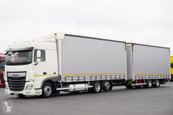 camion DAF - 106 / 460 / ACC / E 6 / ZESTAW PRZEJAZDOWY 120 M3 + remorque