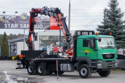 camion MAN PALFINGER 36002 Montagekran Seilwinde JiB Funk