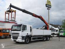 Camion CF 85 460 6x4 Pritsche Heckkran Palfinger PK 21000 plateau occasion
