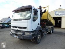 Renault two-way side tipper truck Kerax 420 DCI