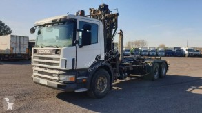 Scania P124 400 truck used hook arm system
