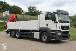 Camion MAN TGS plateau ridelles neuf