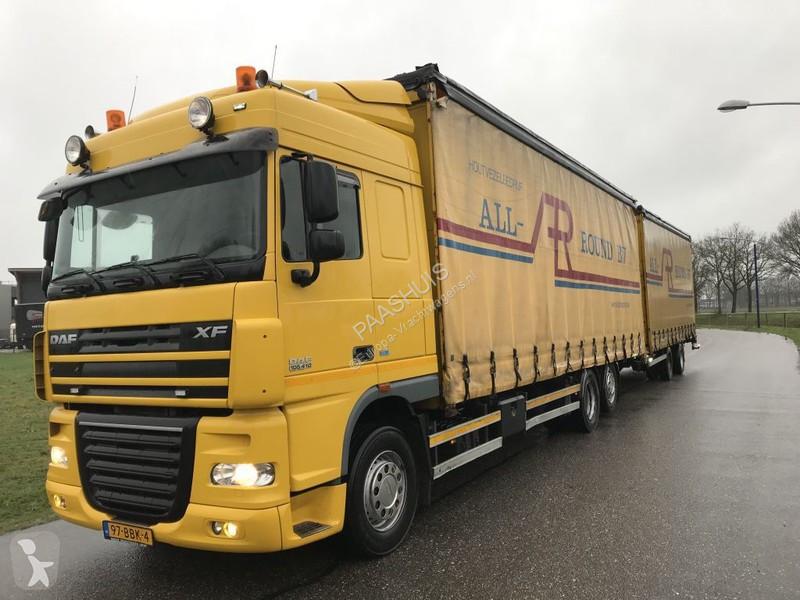 Bekijk foto's Vrachtwagen met aanhanger DAF XF 410