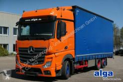 Camião Mercedes 2542 LNR Actros 6x2, Jumbo, Gardine,7.500mm lang caixa aberta com lona usado
