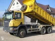 Scania P 340 truck used construction dump