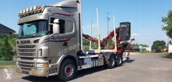 камион камион за превоз на трупи Scania