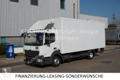 Camion Mercedes ATEGO 816L Koffer LBW AHK Luftgefedert 3-Sitze fourgon occasion
