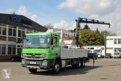 camion Mercedes Actros 2636 E5 6x4 Pritsche-Plane/Kran Hiab 13m
