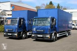 Teherautó Iveco Eurocargo ML120E22 EEV Koffer 7,6m/Klima /LBW használt furgon