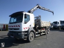 Camion Renault Kerax 370 bi-benne occasion