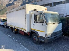 Camión Iveco Iveco centinato alla francese con sponda idraulica lona corredera (tautliner) usado
