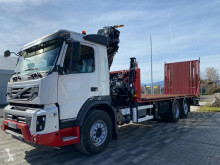 Volvo heavy equipment transport truck FMX