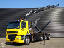 camion DAF GINAF X 4138 / / HAAKARM + HIAB 22 T/M KRAAN / CRANE