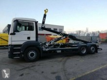 MAN hook arm system truck TGS 26.430
