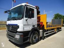 Mercedes heavy equipment transport