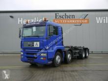 camion MAN TGA 35.360 FFDLC, 8x4, Multilift LHS 32061,Leder