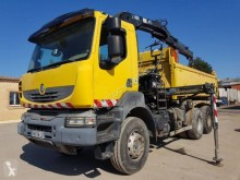 Renault Kerax 370 DXI truck used two-way side tipper