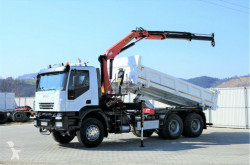ciężarówka Iveco Trakker 350 Kipper 5,10m/Bordmatic+Kran*6x4