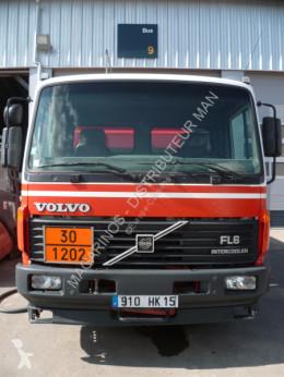 Kamion Volvo FL6 cisterna uhlovodíková paliva použitý