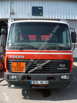 Volvo FL6 truck used oil/fuel tanker