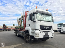 MAN TGS 33.540 truck used timber