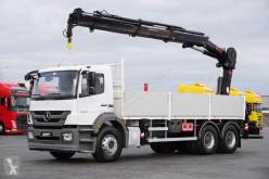 камион Hiab MERCEDES-BENZ - AXOR / 2633 / SKRZYNIOWY + HDS 244 / 6 X 4