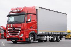 ciężarówka nc MERCEDES-BENZ - ACTROS / 2545 / E 6 / FIRANKA / GIGA SPACE