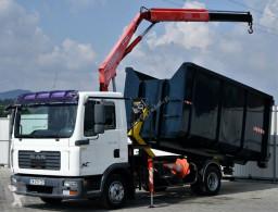 Camion plateau MAN TGL 7.1 Abrollkipper + Kran !!