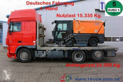 Camión portacoches usado DAF XF105.460 Spezial Baumaschinen Trecker Sonstige