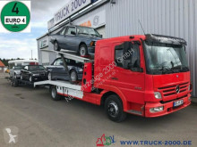 Mercedes car carrier truck 923 Mersch Doppelstock 4 PKW /3 Transporter 1.Hd
