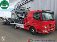 Mercedes tow truck 923 Mersch Doppelstock 4 PKW /3 Transporter 1.Hd