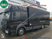 Camion vehicul de tractare second-hand Mercedes 823 Mersch Geschlossener Autotransporter Euro 6