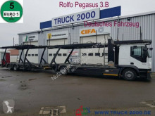 Camion porte voitures Iveco Stralis 420 Rolfo Pegasus Komplett Zug 8-10 PKW