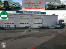 Camion porte voitures Scania 124 G 420 Boot / Shipping Transport Gespann