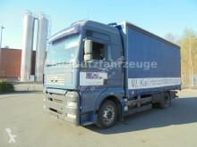 Kamión valník s bočnicami a plachtou MAN TGA 18.480 XXL- Plane und Spriegel-EURO 4-ANALOG