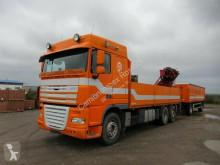 camion DAF XF410 FAR Baustoff+Kran, ZF Intarder