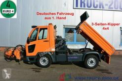 Multicar M30 Kipper inkl Mähgerät Frontbesen Schneeschild truck used tipper