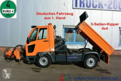Multicar M30 Kipper inkl Mähgerät Frontbesen Schneeschild truck used three-way side tipper