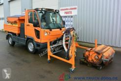 Multicar M30 4x4 Winterdienst Salzstreuer + Frontmäher camião espalhadora de sal usado
