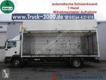 Camião MAN TGM 18.330 elek. Schwenkwand Stapleraufnahme AHK estrado / caixa aberta porta bebidas usado